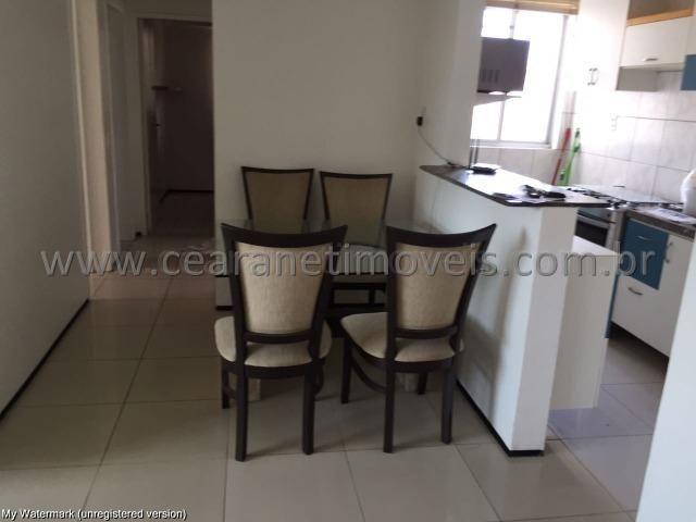 (Cod.:001 - Damas) - Mobiliado - Vendo Apartamento com 3 Quartos, 2 Vagas - Foto 3