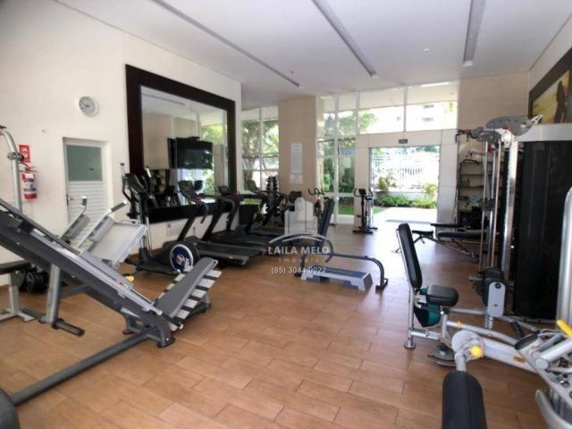Apartamento no meireles,259 m2,4 quartos,4 vagas,lazer completo,paço do bem - Foto 13