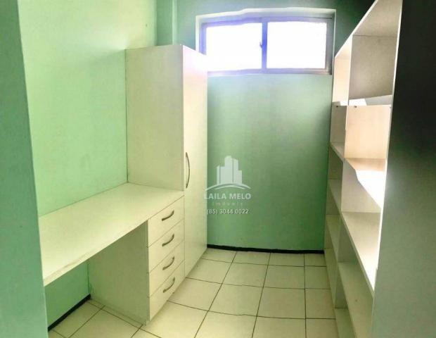 Apartamento com 3 dormitórios à venda, 77 m² por r$ 258.000,00 - benfica - fortaleza/ce - Foto 15
