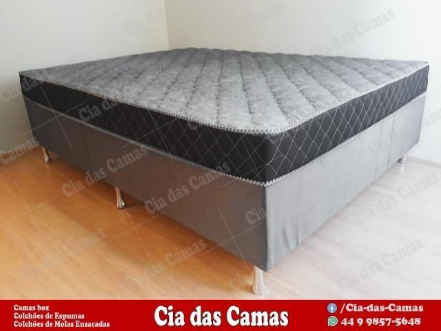 Cama box Casal ( Com Nota Fiscal)