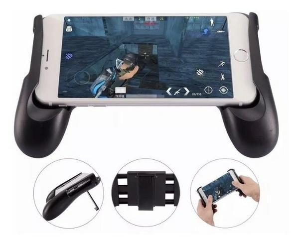 Suporte GamePad para Celular Free Fire Android celular - Foto 2