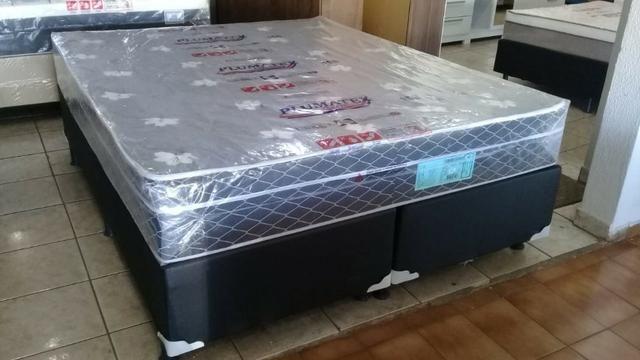 Cama queen size molas bonnel apenas 799 preço de fabrica - Foto 3