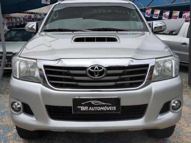 Hilux 3.0 SRV Top 4X4 Turbo Diesel Aut + Controle Estabilidade e Rodas 17 BF Goodrich