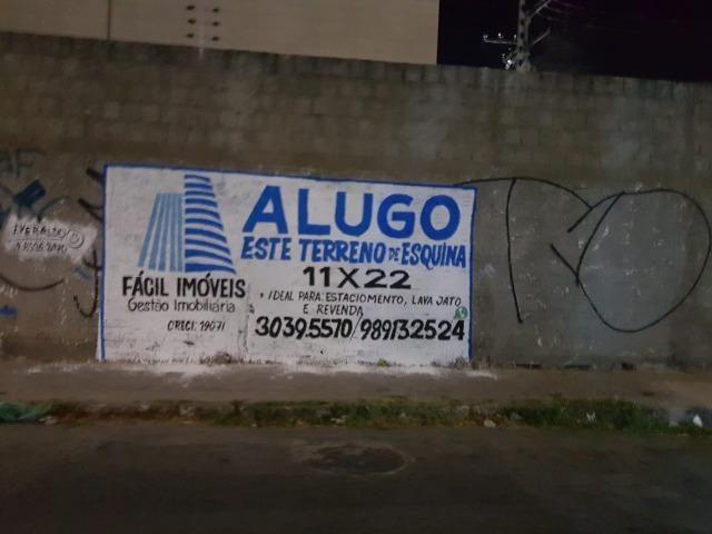 Alugo excelente terreno, ponto comercial no bairro Conjunto Ceará ideal para investir - Foto 7