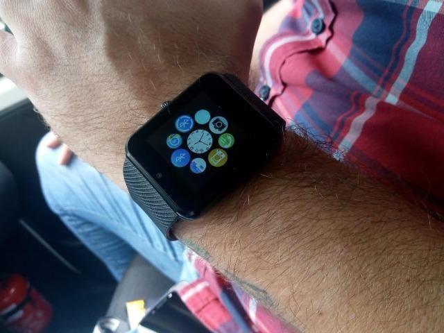 Relógio smartwatch função celular - Foto 3