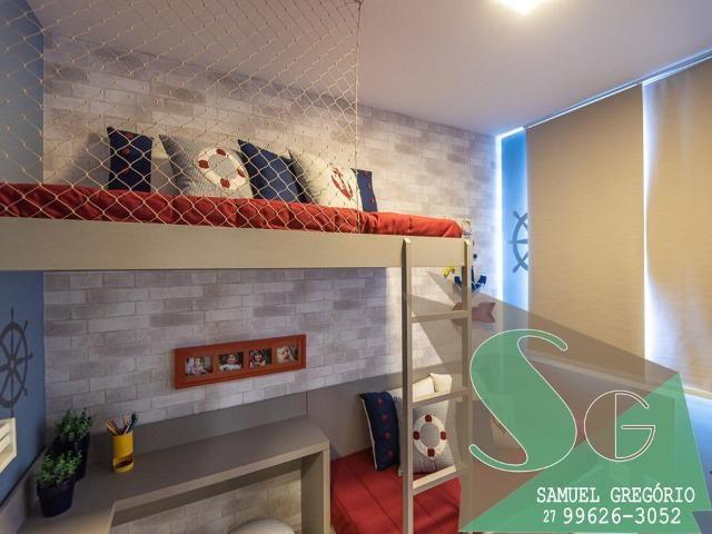 SAM - 66 - Via Jardins Torre Cerejeira - 46m² - Morada de Laranjeiras - Serra, ES - Foto 3