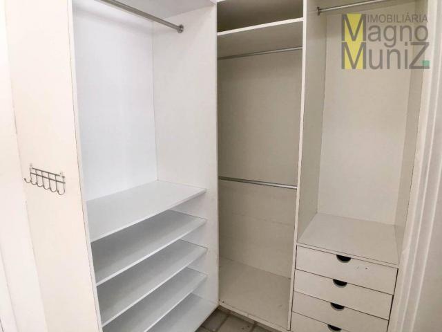 Apartamento com 4 suítes para alugar, 300 m² por r$ 2.500/ano - meireles - fortaleza/ce - Foto 14