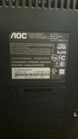 TV Lcd 22? (548,3mm diagonal) AOC - Foto 2