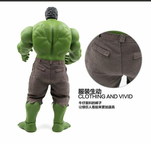 Hulk boneco Marvel - Foto 4