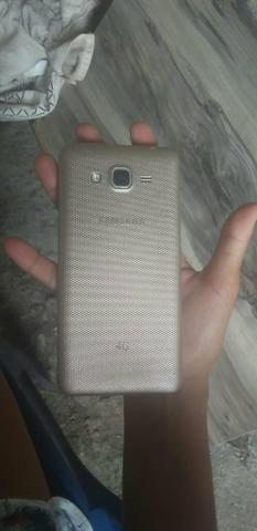 Vendo ou troco celular Samsung gran duos dois chips - Foto 3