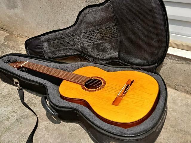 Aceito trocas por instrumentos musicais. Violão Antigo Di giogio mod 28 Classico de 1982