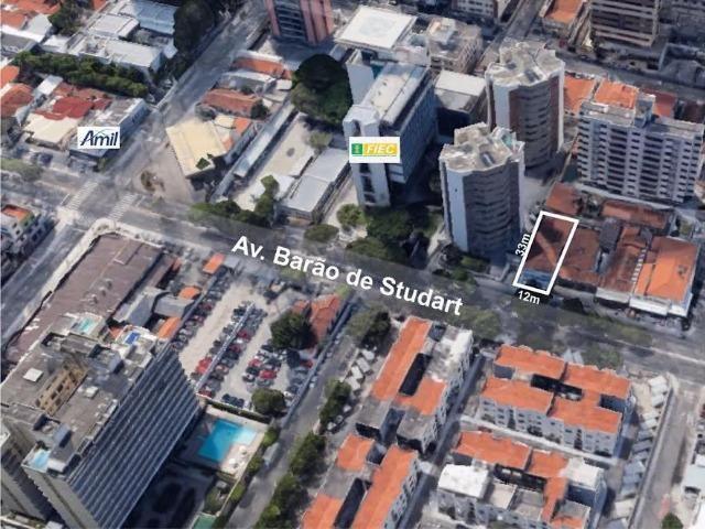 Terreno na Av. Barão de Studart, vizinho a FIEC.TE0082