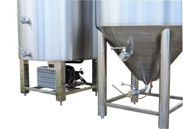 Tanque fermentador e maturador auto refrigerado para cerveja 120 lit - Foto 3