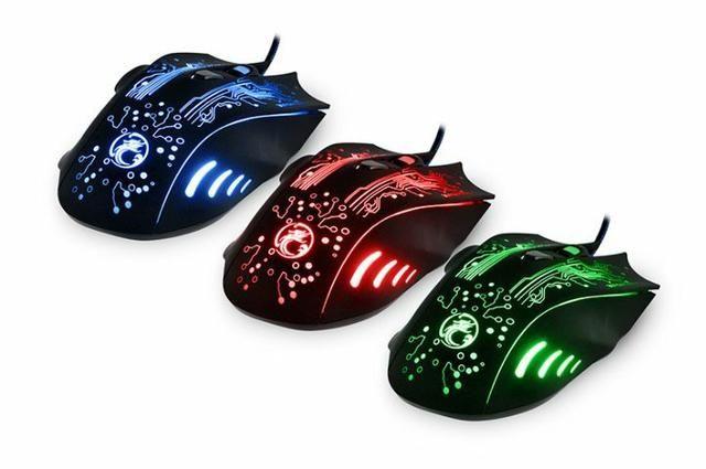 Mouse Game X9 2400 Dpi Usb Led - Foto 2