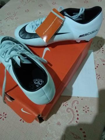 Chuteira Nike Campo Mercurial Victory Vi CR7 - Original - Esportes e ... ef29226035606