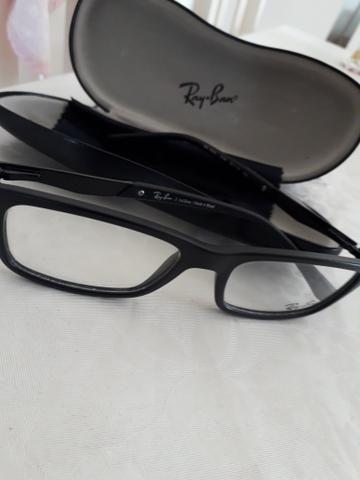 Armação de óculos de grau da marca Ray-Ban original - Bijouterias ... d78001ac1a