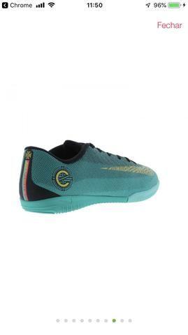 2814e1e3b3 Tênis Futsal Nike Mercurial Vapor CR7 - Esportes e ginástica ...