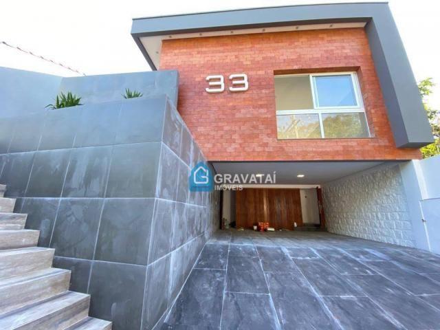 Casa com 3 dormitórios à venda, 190 m² por R$ 850.000 - Centro - Gravataí/RS