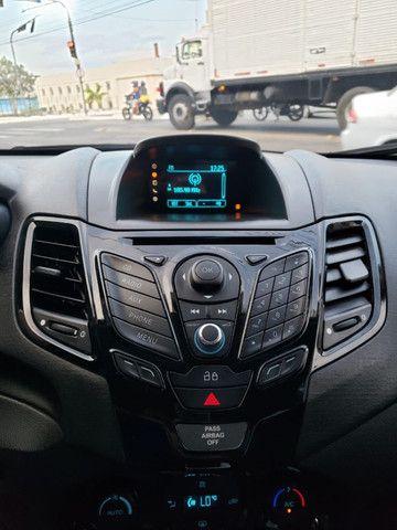 Ford Fiesta 1.6 Titanium 2015 Sedan. Um Dos Mais Novos De Campina - Foto 14