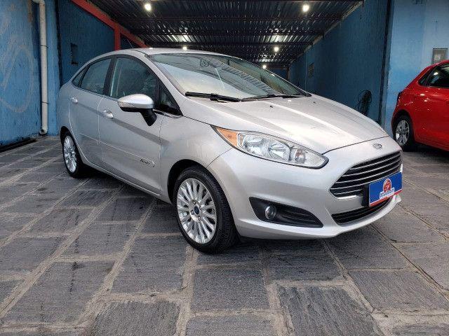 Ford Fiesta 1.6 Titanium 2015 Sedan. Um Dos Mais Novos De Campina - Foto 2