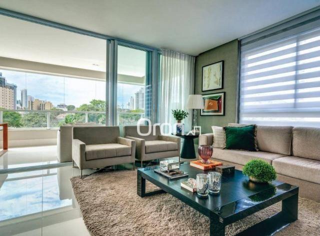 Apartamento com 5 dormitórios à venda, 382 m² por R$ 3.019.000,00 - Setor Oeste - Goiânia/ - Foto 8