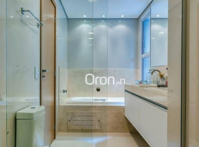 Apartamento com 5 dormitórios à venda, 382 m² por R$ 3.019.000,00 - Setor Oeste - Goiânia/ - Foto 18