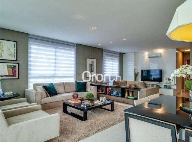 Apartamento com 5 dormitórios à venda, 382 m² por R$ 3.019.000,00 - Setor Oeste - Goiânia/