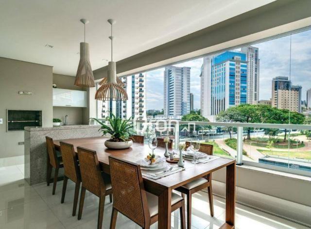 Apartamento com 5 dormitórios à venda, 382 m² por R$ 3.019.000,00 - Setor Oeste - Goiânia/ - Foto 10