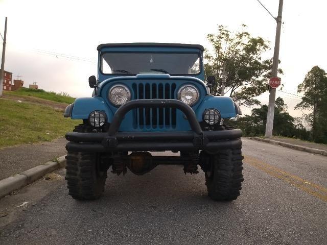 Trovão Azul Terrestre Jeep Willys CJ5 - Foto 5