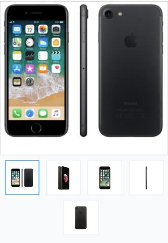 IPhone 7 32 gb 3 meses Uso!!! Leia o anúncio!!!!