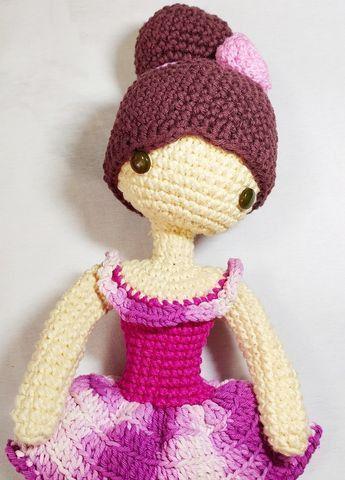 Bailarina Amigurumi em 2020   Receitas amigurumi, Fazer croche   480x345