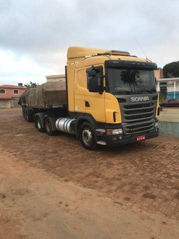 Caminhão Scania 470 com motor 440 6x4 - Foto 11