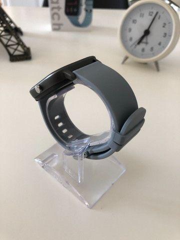 Smartwatch Colmi P8 Pulseira de Silicone Cinza Compatível com IPhone e iOS - Foto 3