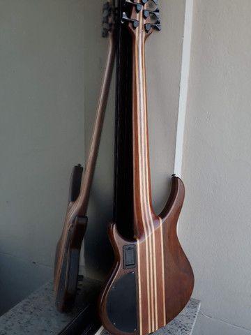 Bass Tagima Century 5(Brasil)c/ capt Bass Line parcelo cartão/ML valio troca - Foto 2