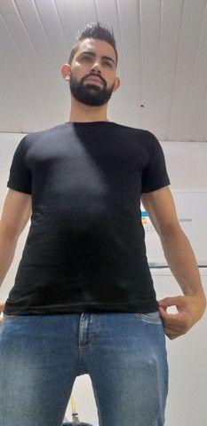 Camisa lisa 100% algodão  - Foto 2