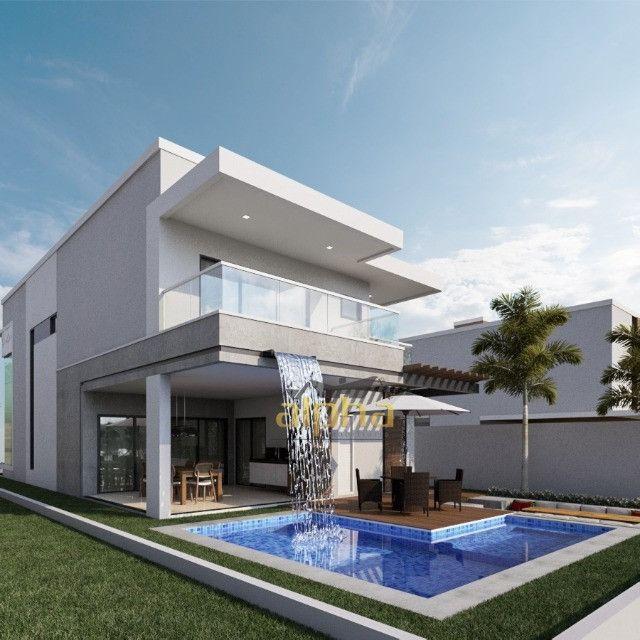Luxuosa Casa em Condomínio Fechado - Alphaville Terras Ceará 01 - Foto 4