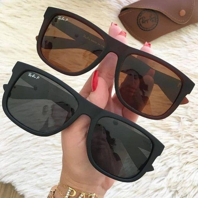 Promoção Óculos de Sol Polarizado RayBan Justin - Foto 4