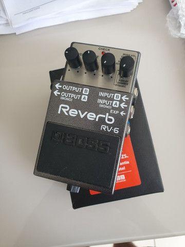 Pedal reverb rv6-Boss