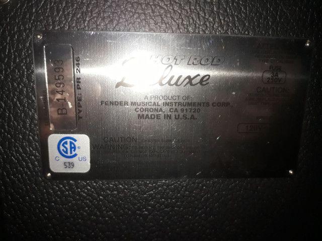 Amplificador fender hot rod USA - Foto 2