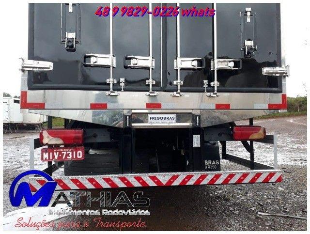 carroceria refrigerada 3/4 toco truck bi truck  para todos os tamnahos  - Foto 5