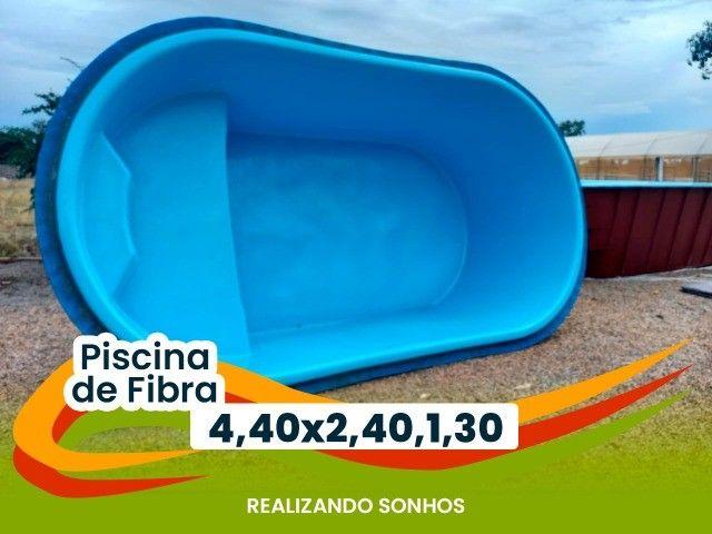 Piscina Oval 4 metros - Frete Grátis - Foto 4