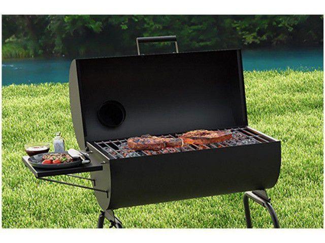 (((Promoção))) Churrasqueira a Carvão Portátil a Bafo com Grelha - Foto 3