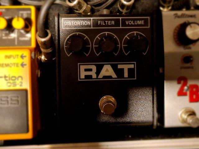 Pedais Guitarra Boss DS2, Boss Chorus, Proco Rat, Crybaby, MXR