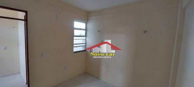 Apartamento com 1 dormitório para alugar, 29 m² por R$ 600,00/mês - José Bonifácio - Forta - Foto 10