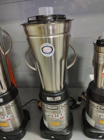 SPL-050W liquidificador 6 litros baixa rotação - SPOLU  - Foto 2