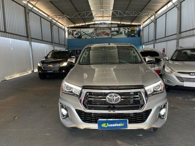 Toyota Hilux Srv Flex 4x4 2020 Garantia de Fabrica - Foto 2