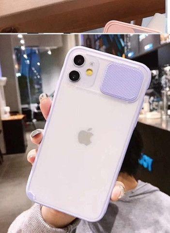 Capa para Iphone 11 com Proteção de Lente de Câmera para Celular - Foto 3