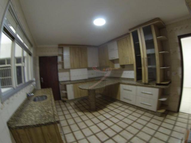 Apartamento com 4 dormitórios para alugar, 181 m² por R$ 1.650,00/mês - Centro - Foz do Ig - Foto 13