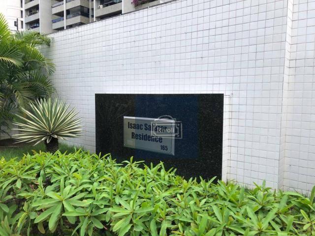 Apartamento para alugar, 48 m² por R$ 2.100,00/mês - Tamarineira - Recife/PE - Foto 14