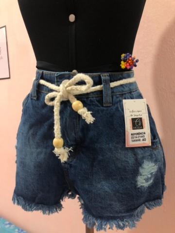 Saia Jeans +short jeans - Foto 4